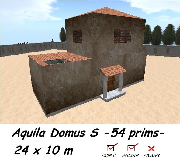 Aquila Domus S ancient house BOXED