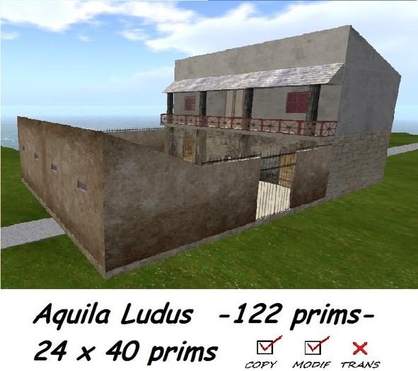 Aquila Ludus gladiators school BOXED