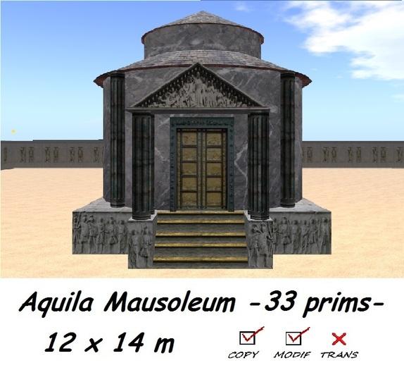 Aquila Mausoleum BOXED