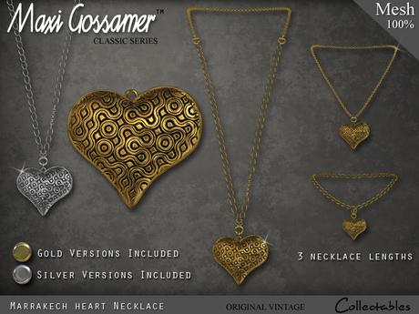 Necklace - Marrakech Heart