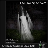 Wandering Halloween Grey Lady Ghost Scripted - Halloween, Gothic