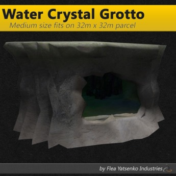 [FYI] Medium Sized Water Crystal Cave Grotto 1.0.2