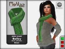 Bailey Mesh Scarf ~ Basic collection - Green