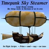 Steampunk Sky Steamer