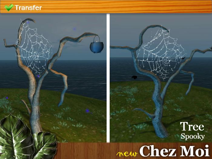 Tree Spooky ♥ NEW Chez Moi