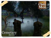 Cemetary Spooky  ♥ NEW Chez Moi