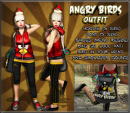 NS:: Angry Bird Outfit