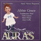 *Aura's* Abbie Grace in Blue for Yabu & Toddleedoo