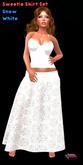 .:Glamorize:. Sweetie Skirt Set - Snow White
