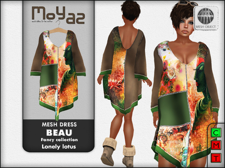 Beau Mesh dress ~ Fancy collection - Lonely Lotus