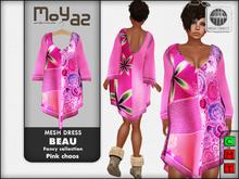 Beau Mesh dress ~ Fancy collection - Pink Chaos