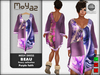 Beau Mesh dress ~ Fancy collection - Purple Faith