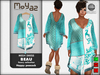 Beau Mesh dress ~ Fancy collection - Happy Peacock