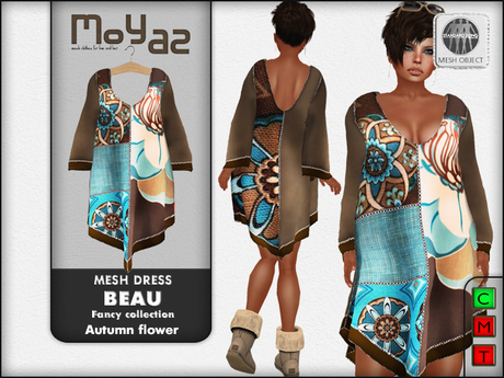 Beau Mesh dress ~ Fancy collection - Autumn Flower