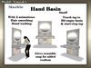 Marble hand basin   small slm