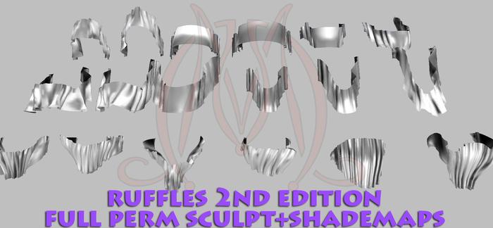 Ruffles 2nd edition FULL PERM SCULPT+SHADEMAPS