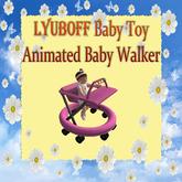 LYUBOFF Baby Animated Walker (Pink)