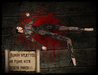 Boudoir Halloween-Bloody Splatter on Floor with Poses