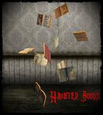 Boudoir Halloween-Haunted Books