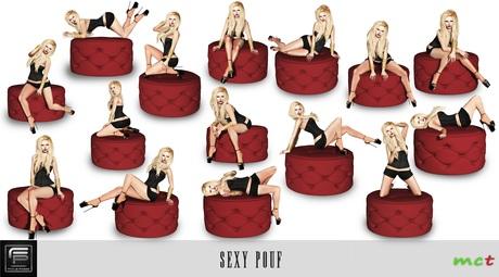 :: Focus Poses Sexy Pouf ::