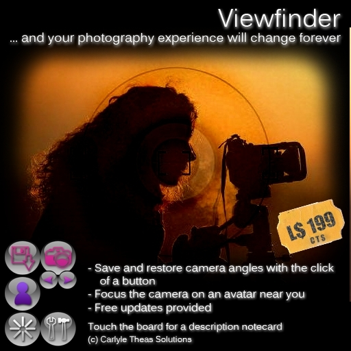 (CTS) Viewfinder - Save camera angles and switch between them easily