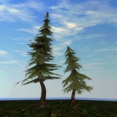 Tree System: Rustica - WEEPING Pine Tree Forest Pack