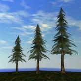 Tree System: Rustica - DARK Pine Tree Forest Pack