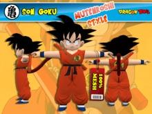 Goku DB - Mutenroshi Style