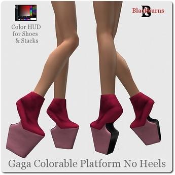 No Platform Heels