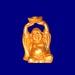Buddhafigur 3 mit Sprüchen
