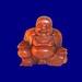 Buddhafigur 1 mit Sprüchen