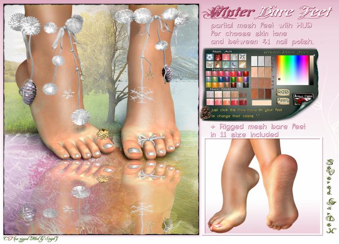 *{ SeVered GarDeN }* Bare Feet - WINTER V.2