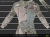 **Neo Tech** Mesh Flowers long Sleeves Shirt [5 sizes,Flowers] ** This Week Only!