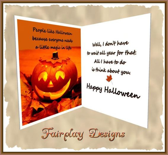 Second Life Marketplace - ~FDA~You're My Magic Halloween Greeting Card*TOUCH  ME*