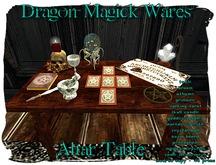 Dragon Magick Wares Altar Table
