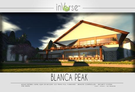 Blanca Peak multianimated furnished house cottage OVER 350 ANIMS!