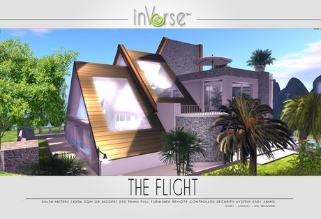 The Flight multianimated full furnished house skybox OVER 250 ANIMATIONS!
