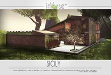 SICILY -full furnished italian house cottage skybox 500+ anims!