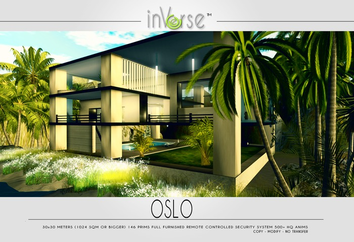 OSLO - full furnished contemporary house - 500  ANIMS!