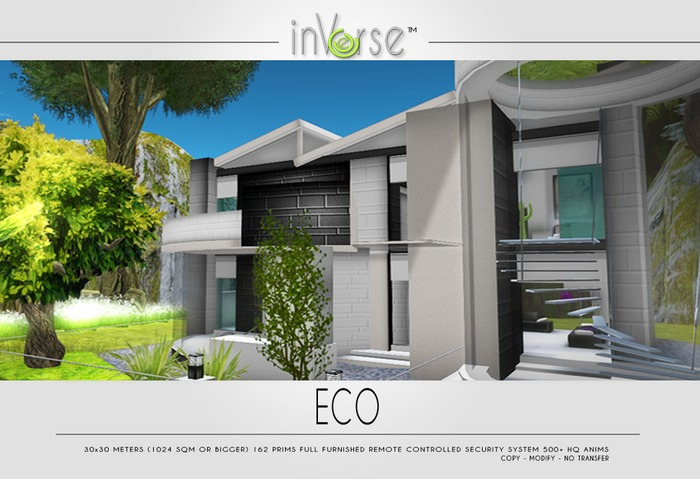 ECO - full furnished house skybox500  ANIMS!