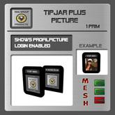 EMU Tipjar Plus Picture - for dancer or DJs to log in