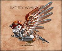 Steam Punk Sparrow Flight