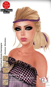^;^CaTwA^;^ Non-Rigged Mesh Katniss 2 PROMO/Summer Blondies