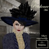 Hatpins - Lady Prudence Hat - Navy