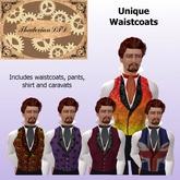 Thadovian LTD Waistcoat Set - Unique Styles tagSteampunk