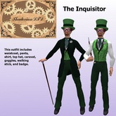 Thadovian LTD Victorian Outfit - The Inquisitor - tagSteampunk