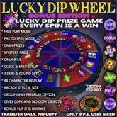 Lucky Dip Wheel Bonus Edition v2 - Super prize giver & game - GACHA