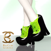 BAX Booties Halloween Phosphoric Green