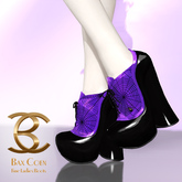 BAX Booties Halloween Acetic Plum