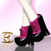 BAX Booties Halloween Tartaric Pink